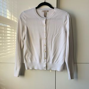Banana Republic Cardigan with Pearl Buttons